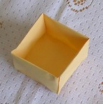 2-sheet box: Insert - top view