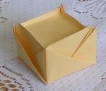 2-sheet box: Insert - bottom view