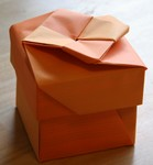 Recycled flyer box, Type 1.