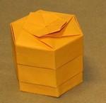 Hex Layered Box.  Sept 2006