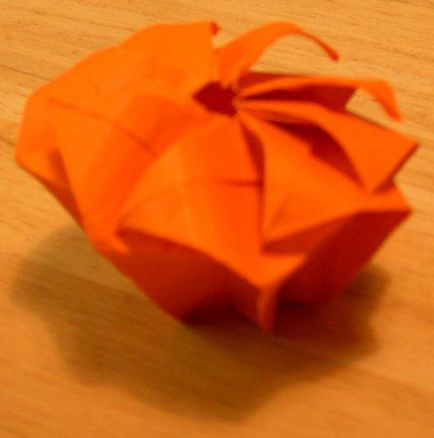 Twist box, type 4.  Partially undone.