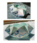 Hexagonal Coaster bowl.  Designed by RLW, June 2007.  
